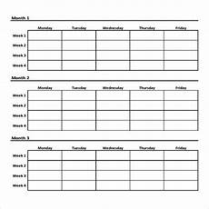 Free Exercise Chart Free 9 Sample Workout Chart Templates In Pdf Ms Word