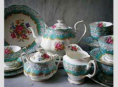 ROYAL ALBERT ' ENCHANTMENT ' TEA SET AND TABLEWARE