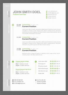 Free Cv 35 Best Free Resume Design Templates Themecot