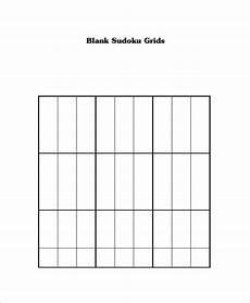 Sudoku Templates Free 9 Blank Crossword Templates In Pdf Excel Eps