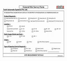 Survey Sheet Template Site Survey Template 12 Free Word Pdf Documents