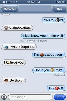 Emoji Texts Clever These Two Funny Emoji Texts Popsugar Tech Photo 4