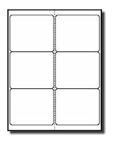 index card template 4 per sheet 120 shipping labels 4 x 3 1 3 blank printable 20 sheets