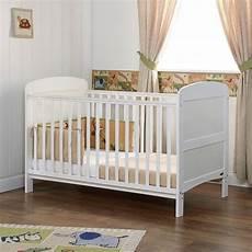 obaby grace cot bed white nurseryfurniture