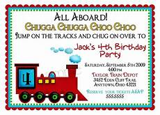 Toddler Birthday Invitation Train Invitations Train Invites Train Birthday Invitations