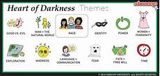 Darkness Chart Heart Of Darkness Theme Of Race