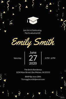 Ms Word Invitation Templates Free Download Free Graduation Invitation Template In Microsoft Word