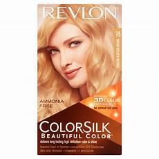 Revlon Hair Color Chart Revlon Colorsilk Beautiful Color 75 Warm Golden
