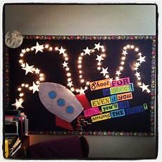 Light Theme Preschool Star Motivational Light Up Bulletin Board