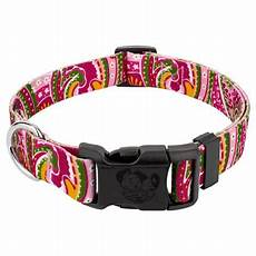 Country Brook Design Dog Collars Country Brook Design 174 Pink Paisley Deluxe Dog Collar