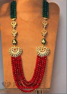 Different Bead Necklace Designs Indian Beaded Jewellery Designs Indian Jewelry Jewelry
