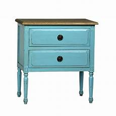 Teal Sofa Table Png Image by Teal Distressed Side Table Chairish