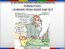 Interactionist Perspective First Language Acquisition Interactionism