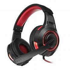 Bakeey Noise Cancelling Stereo Wired by Bakeey Led Light Computer Gaming Wired Headset Stereo 360