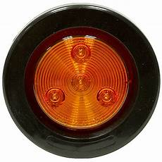 Amber Marker Lights 2 1 2 Quot 4 Led Amber Round Marker Light Dc Mobile