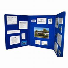 tri fold board designs blue tri fold display board rs 150 square feet color