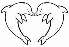 dolphins to dolphins coloring pages
