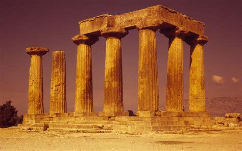 Apollon Tempel Korinth