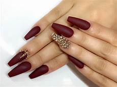 Burgundy And Black Nail Designs Burgundy Matte Nails To Try This Season Naildesignsjournal
