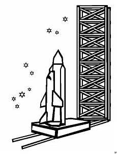 Ausmalbild Rakete Silvester Rakete Am Start Ausmalbild Malvorlage Science Fiction