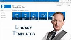 Sharepoint Online Template Sharepoint 2013 Document Library Templates Youtube