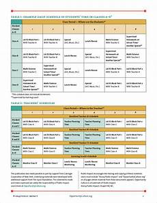 Teacher Schedule Free 11 Teacher Schedule Samples Amp Templates In Pdf Ms Word
