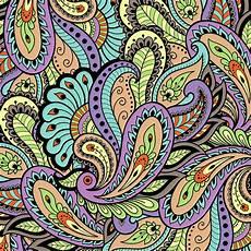 Paisley Design Images Colorful Oriental Paisley Pattern Digital Art By Lioudmila