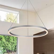Hanging Led Lights Vonn Lighting Tania Collection 36 Watt Silver Integrated