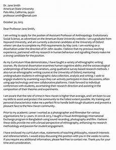 Academic Job Cover Letter How To Write An Academic Cover Letter With Examples Wikitopx