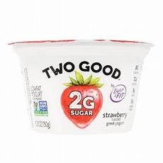Light And Fit Yogurt Two Good Light Amp Fit 174 Two Good Strawberry Greek Yogurt 5 3 Oz Cup