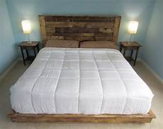 Diy Headboards For King Size Beds How To Create Beautiful Headboard From Wooden Pallet