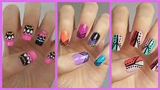 Nail Art Easy Easy Nail Art For Beginners 12 Jennyclairefox Youtube