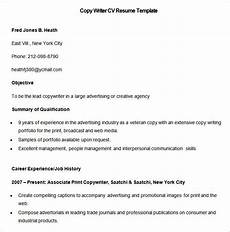 Copy Resume Template Media Resume Template 31 Free Samples Examples Format