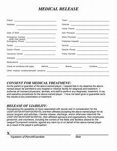 Generic Release Of Medical Information Form Medical Release Form Templates Free Printable