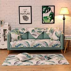 Patchwork Sofa Cover 3d Image by 1 Cotton Fabric Sofa Cover Patchwork Printing Soft