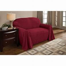 Throw Slipcover Sofa 3d Image by Shop Innovative Textile Solutions Solid Textured Sofa