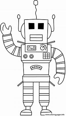 Supercoloring Robot Robot Coloring Pages Pictures Whitesbelfast