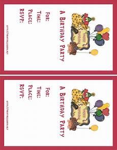 Free Postcard Invitation Templates Printable Printstationery Net Free Direct Mail Postcards Free