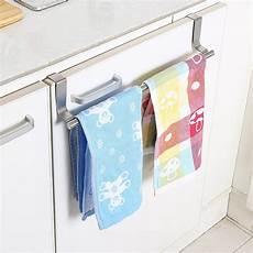 stainless steel towel bar holder kitchen cabinet cupboard