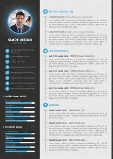 Curriculum Vitae Layout Template Professional Cv Cv Templates Sample Template