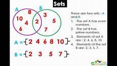 Venn Diagram Sets Calculator Math Lesson Introduction To Sets Amp Venn Diagrams
