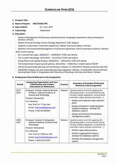 Gis Resume Pdf Mapping And Gis Analyst Cv
