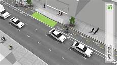 Cycle Track Design Two Way Cycle Tracks National Association Of City