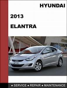 2013 Hyundai Elantra Repair Manual Free Download