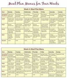 Meal Planner With Nutritional Information Download The Abundance Diet Meal Plan Menus Here Vegan