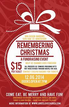 Chrismas Posters Remembering Christmas Fundraiser Dinner Lord S Love Church