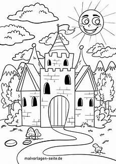 Malvorlagen Ritterburg Ausmalbild Burg Ausmalbilder Kostenlos Herunterladen