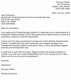 Cover Letter For Project Coordinator Position Project Manager Cover Letter Examples Cover Letter Now