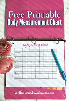 Free Printable Body Measurement Chart Free Printable Body Measurement Chart T Tapp Inspired