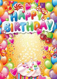 Birthday Cards Design Free Downloads 21 Birthday Card Templates Psd Vector Eps Jpg